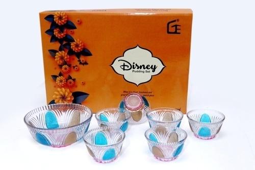 7 Pcs Pudding Set King Deco Disny Box