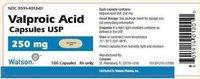 Valproic Acid Capsules