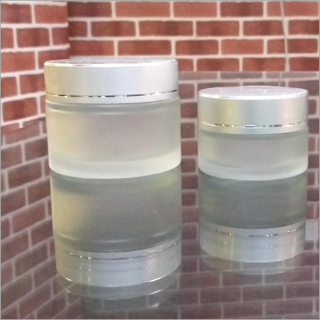 20-50 gram Frosted Glass Jar