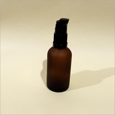 30ml Frosted Glass Pump Bottle