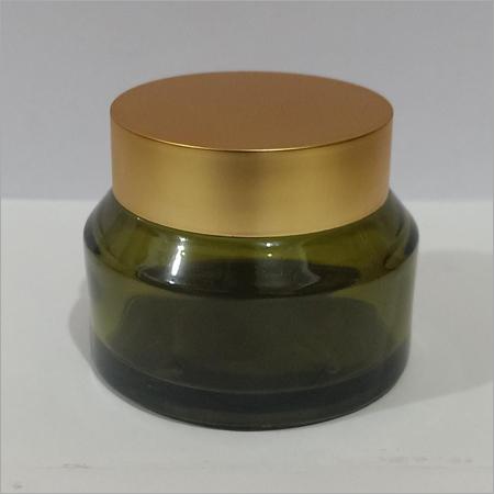 500gram olive Green Glass Jar