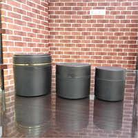 Black matt PP Jar