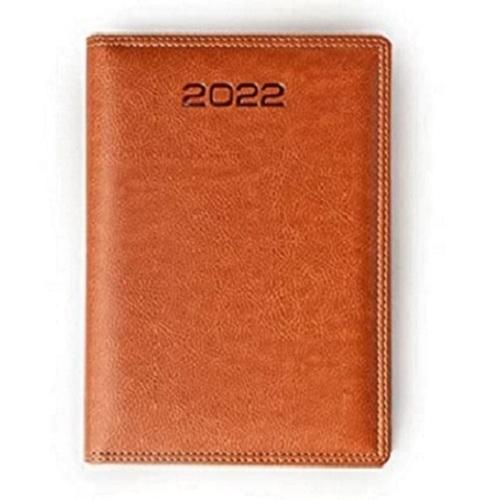Mahavir Premium New Year Dated Diary 2022 - A5 Size - (Black)