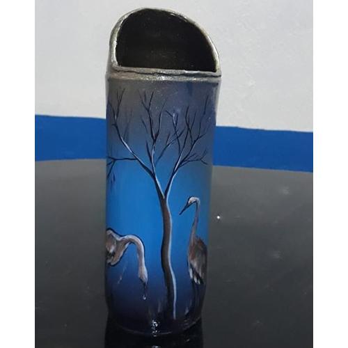 Terracotta Decorative Pencase