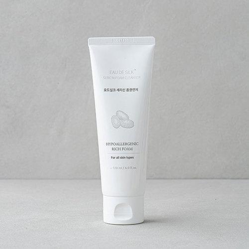 Eau De Silk Sericin Foam Cleanser