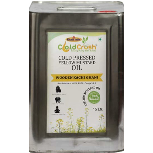 15 Ltr Cold Pressed Mustard Oil
