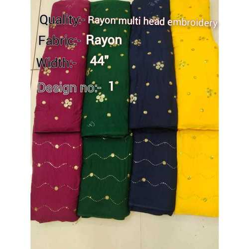 RAYON MULTY HEAD EMBROIDERY