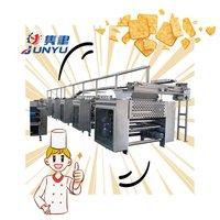100kg/h cookies biscuit making machine making dough lamination machine biscuit machine price