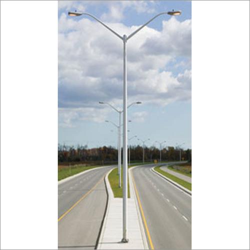 Steel Double Tubular Pole