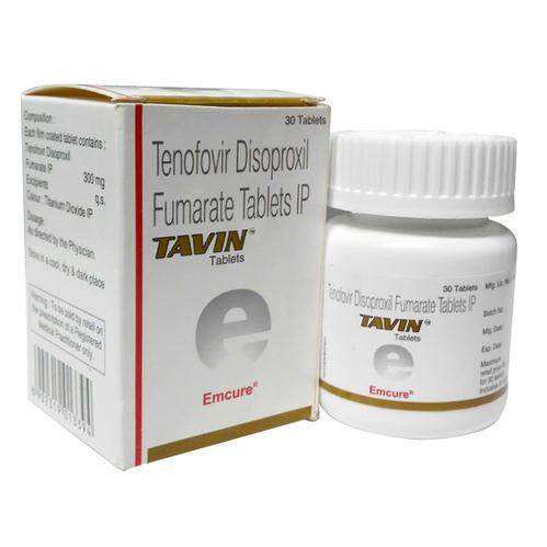 TAVIN (Tenofovir disoproxil fumarate (300mg) TABLET