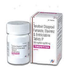 Trustiva (Emtricitabine, Tenofovir & Efavirenz)tablet