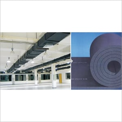 Galvanized Metal Duct Elastomeric Thermal Insulation