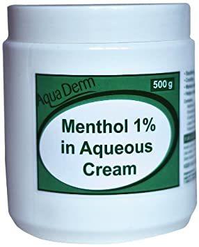 Menthol and Aqueous Cream