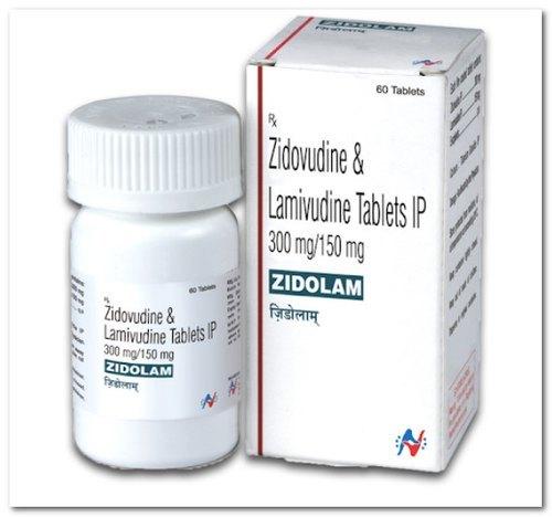 Zidolam  Tablet (Lamivudine (150mg) + Zidovudine (300mg)