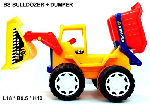 BS Bulldozer + Dumper