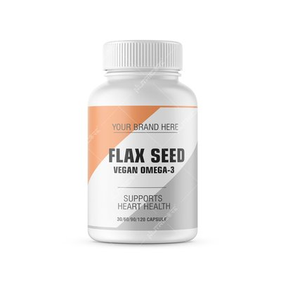 Flaxseed Extract Capsule Certifications: Gmp