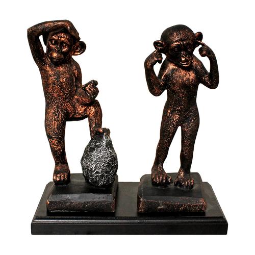 Polyresin Monkey Statue