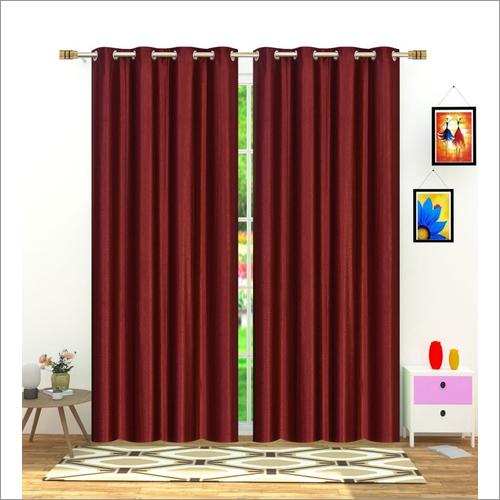 Long Crush Curtain