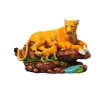 Polyresin Lion Figurine
