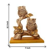 Polyresin Owl Figurine