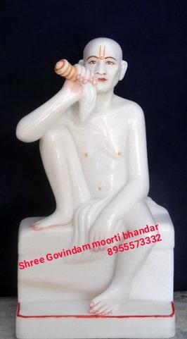 White Marble gajanad Maharaj