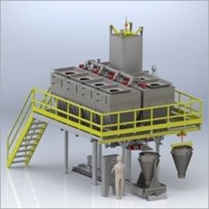 Discharge Batch Weighing System