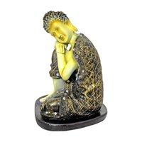 Resting Buddha Polyresin Statue