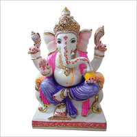 Marble Color Ganesh Statue