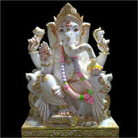 Marble Vighnaharta Ganesh Statue