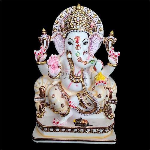 Marble Shree Ganesh Statue