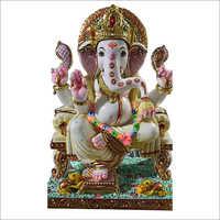 Makrana Marble Lord Ganesha Statue