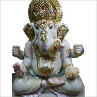Marble Color Lord Ganesha Statue