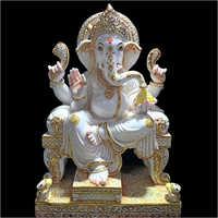 Marble Bal Ganesha Statue