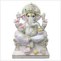 Marble Fancy Ganesh Statue
