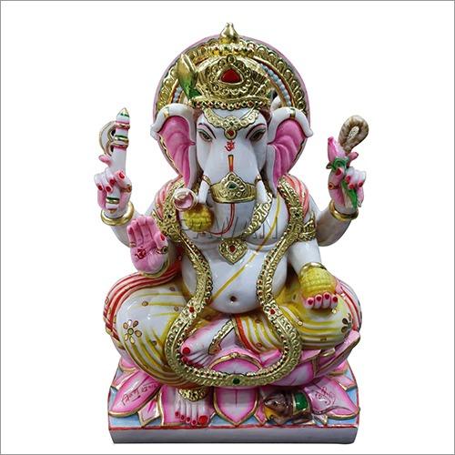 Marble Mandir Ganesh Statue