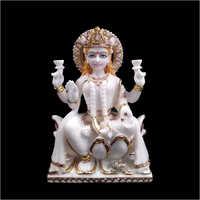 Marble Maa Laxmi Statue