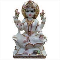 Marble Dust Laxmi Statue