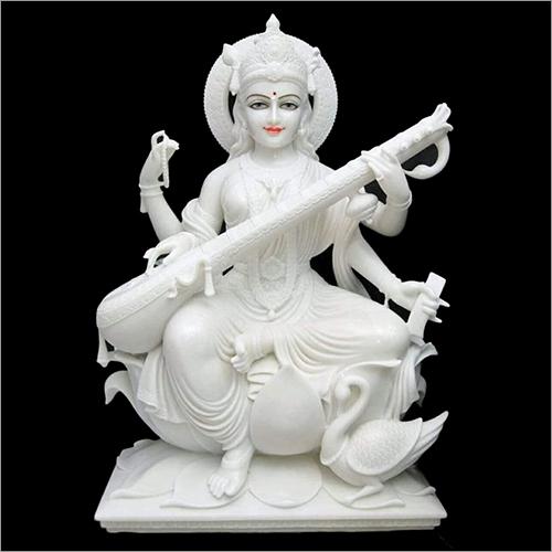 Marble Fancy Saraswati Devi Statue