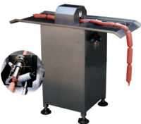 EY-52B Pneumatic Tensile U type Button Meat Roll Sausage Clipper Machine Electric Automatic Sausage Machine
