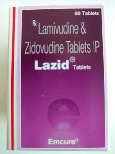 Lazid Tablet (Lamivudine (150mg) + Zidovudine (300mg)