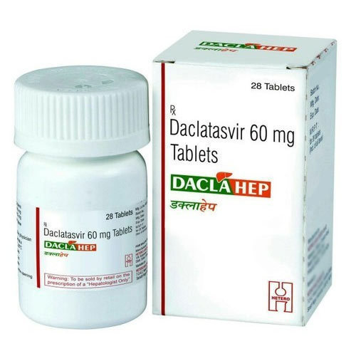 Daclahep 60mg Tablet (Daclatasvir (60mg)