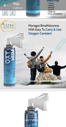 Oxygen Can Portable