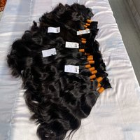 Top Quality 100% Unprocessed Virgin Brazilian/Indian Cuticle Aligned bulk human Hair Extensions