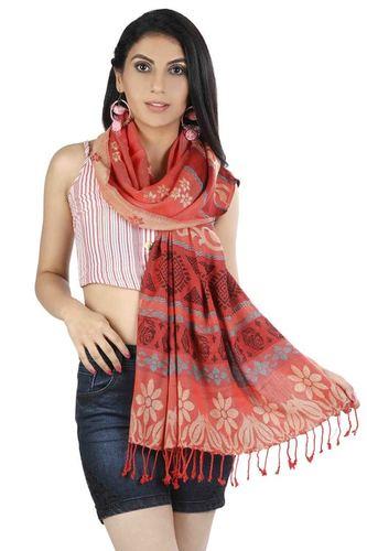 Viscose Reversible Pashmina Shawls  - 70x180
