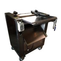 YGB-400 Free Stand Fish Skin Peeling Fish Skin Removing Processing Machine