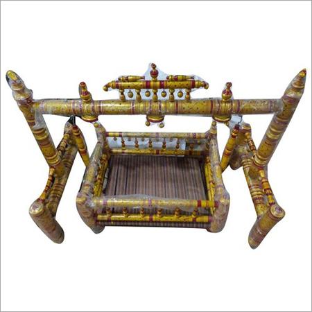 Wooden Krishna Swing