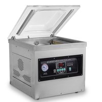 VDS-260 Auto Table Top Vacuum Packing Machine Bag Closing Machine Household Food Vacuum Sealer Packaging Machine