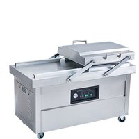 VDU-2S-500 Double Chamber Continuous Vacuum Packing Machine for Food