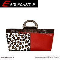 Hot style manufacturer of custom cosmetic bags luxury cosmetic lady handbag