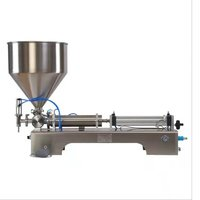 STT-01 Semi Automatic Bottle Can Filling Machine